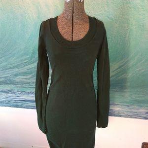 Bench green sweater dress